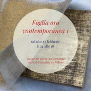 Workshop | FOGLIA ORO CONTEMPORANEA 1